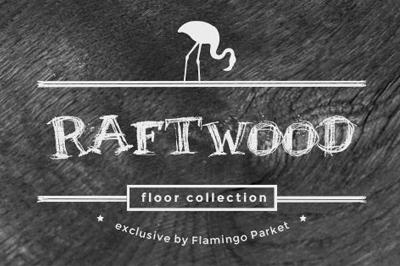 Vloeren Hout Raftwood visgraat categorie flamingo parket donker