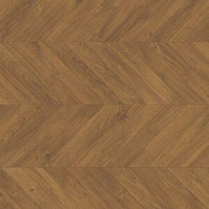 Impressive Patterns - Eik visgraat bruin