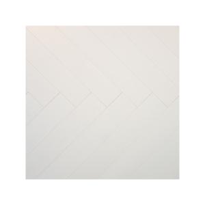 04959 Visgraat eiken wit gelakt 4V Laminaat
