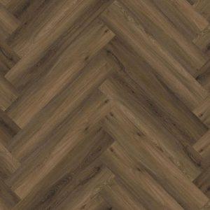 Floorlife - Yup Collection Dryback Herringbone Warm Brown