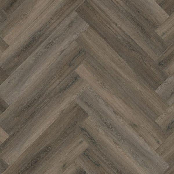 Floorlife - Yup Collection Dryback Herringbone Dark Grey