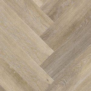 Trendy visgraat honing - PVC-klik